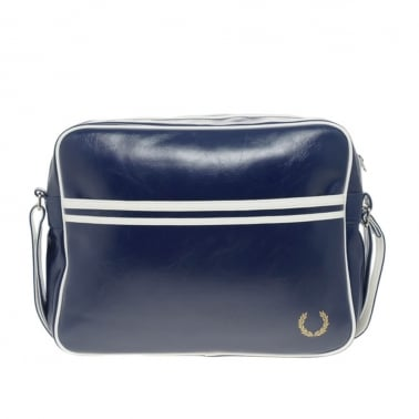 Classic Shoulder Bag - Navy