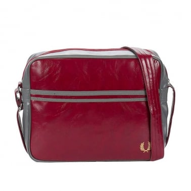 Classic Shoulder Bag - Oxblood