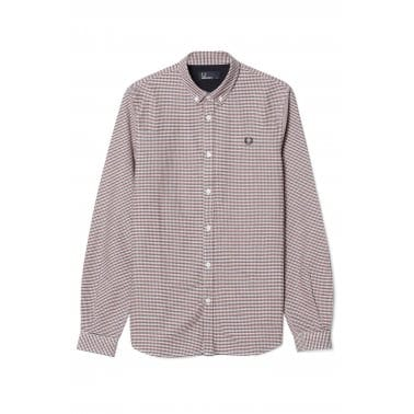 Colour Gingham Shirt - Dark Carbon