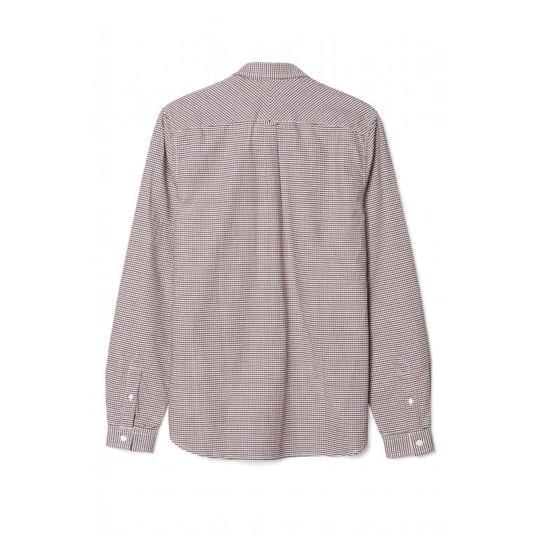Fred Perry Colour Gingham Shirt - Dark Carbon
