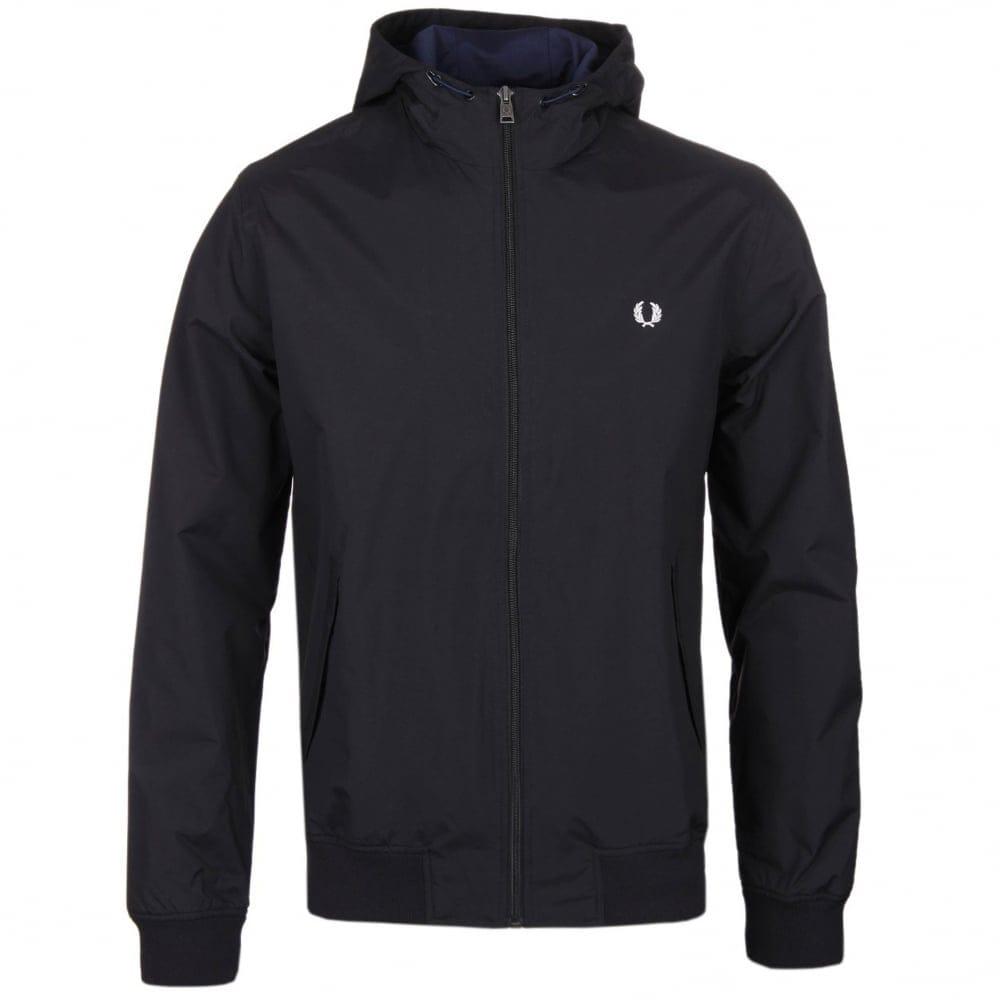 Fred Perry Hooded Brentham Jacket Jackets Natterjacks