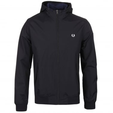 Hooded Brentham Jacket - Black