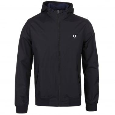Hooded Brentham Jacket - Black