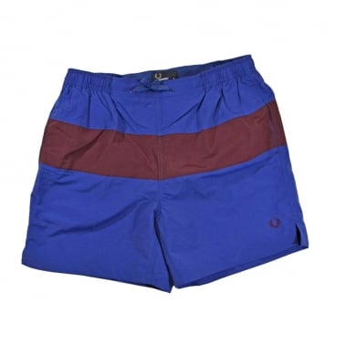 Panel Swim Short - Royal Blue
