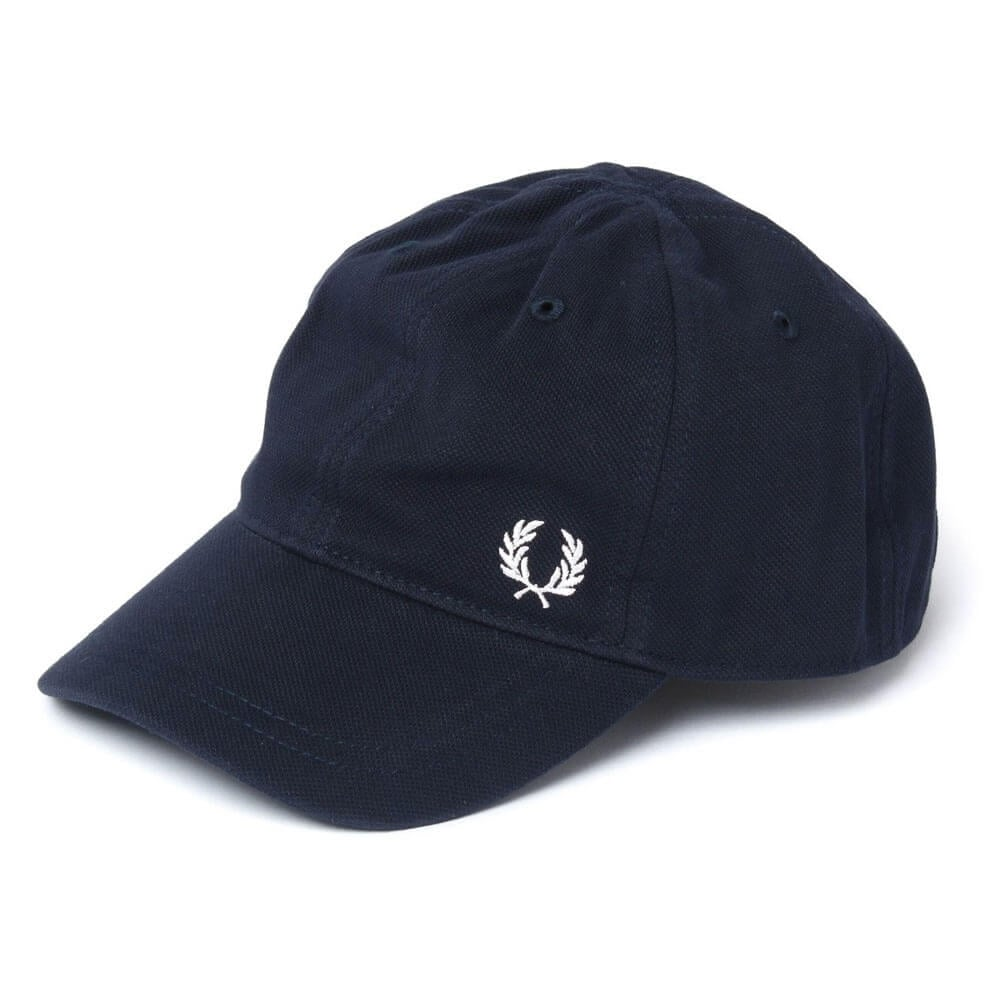 938aad95609 Fred Perry Pique Classic Cap - Navy