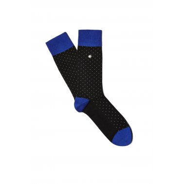 Polka Dot Sock - Black