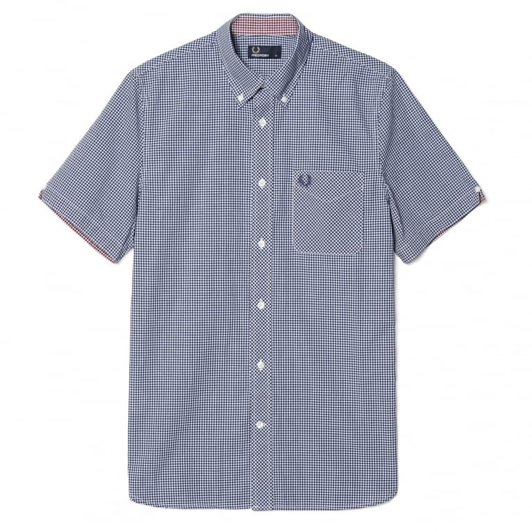 Fred Perry Short Sleeve Gingham Shirt