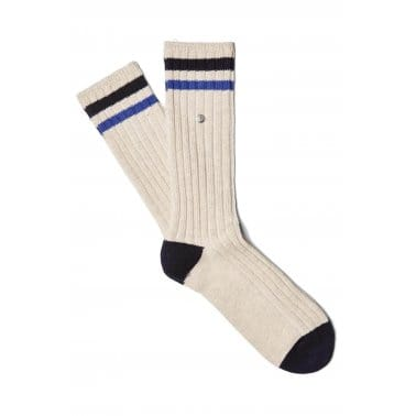 Sports Tip Sock - Ecru Marl