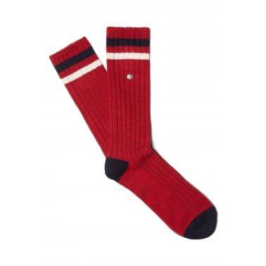 Sports Tip Sock - Maroon