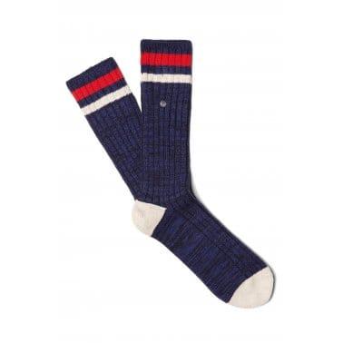 Sports Tip Sock - Navy Maroon