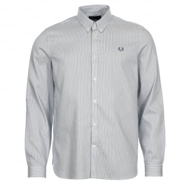 Stripe Shirt - Washed Dusk Blue
