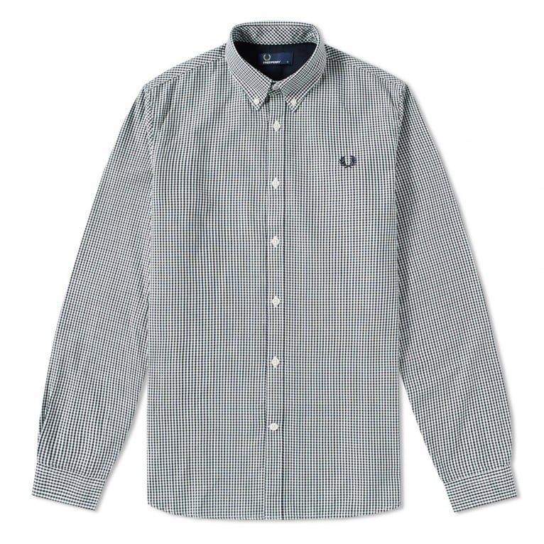 Fred Perry Three Colour Basketweave Shirt