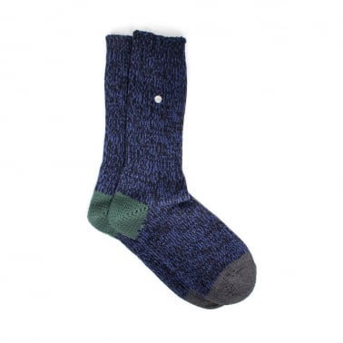 Twisted Sock Medieval Blue