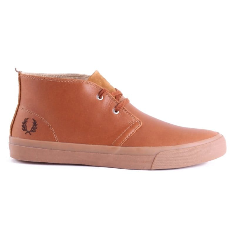 cad5ab686b0 Fred Perry Vernon Mid Desert Boot - Tan