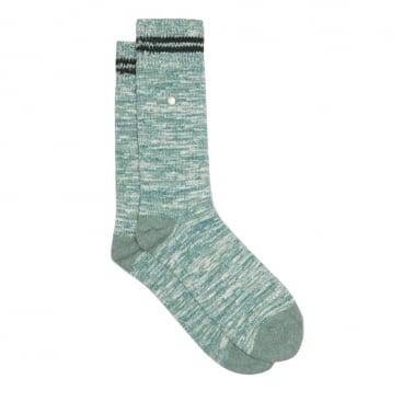 Weekender Socks Sea Green