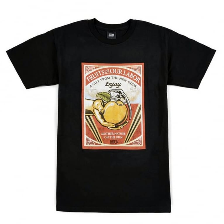 Fruits Of Our Labour Tee - Black