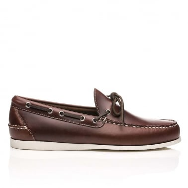 Camp Moc Decker Pull Up Leather - Dark Brown