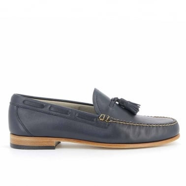 Weejun Larkin Palm Springs - Navy Leather