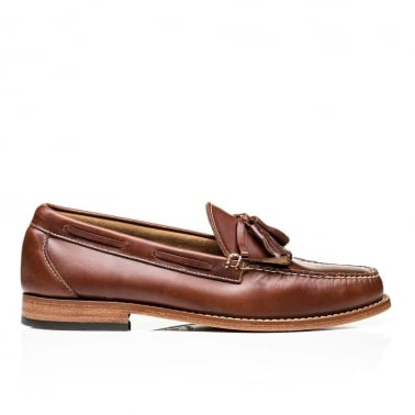 Weejun Layton Pull Up Kiltie - Mid Brown