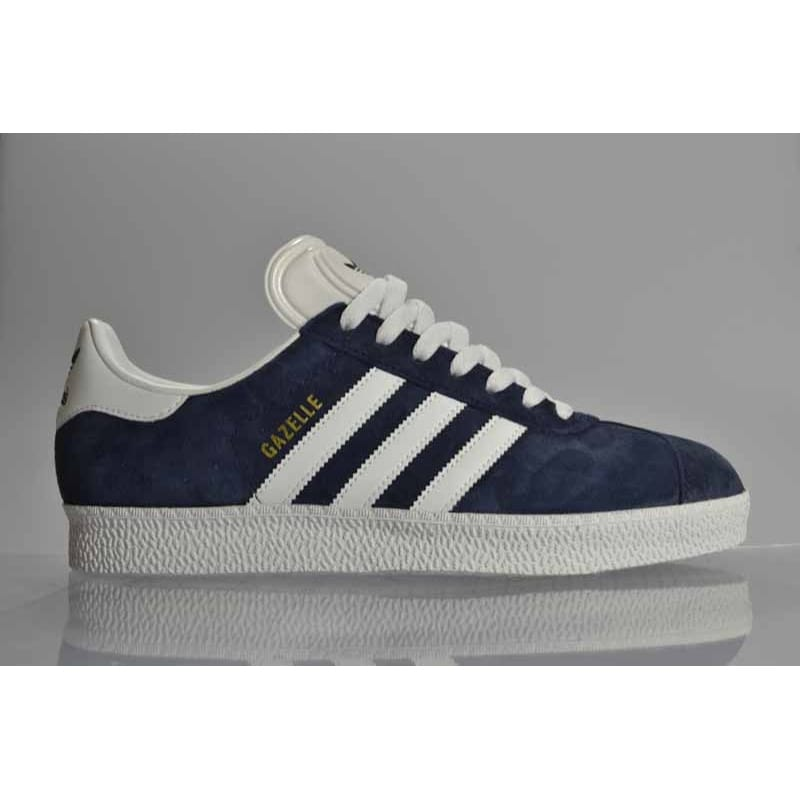 chaussures de sport 8c60f a0502 adidas originals Gazelle 2 Marine/Run White