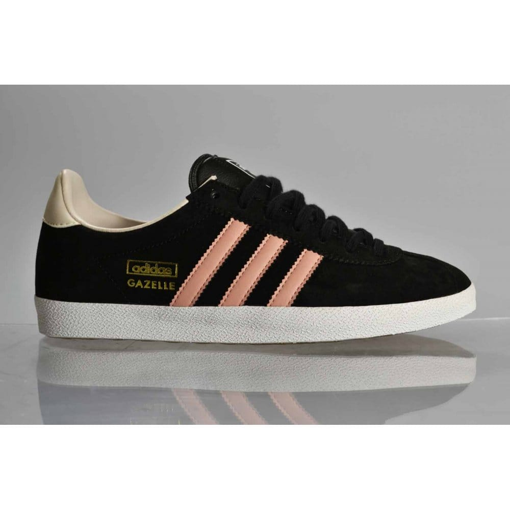 black adidas gazelle womens