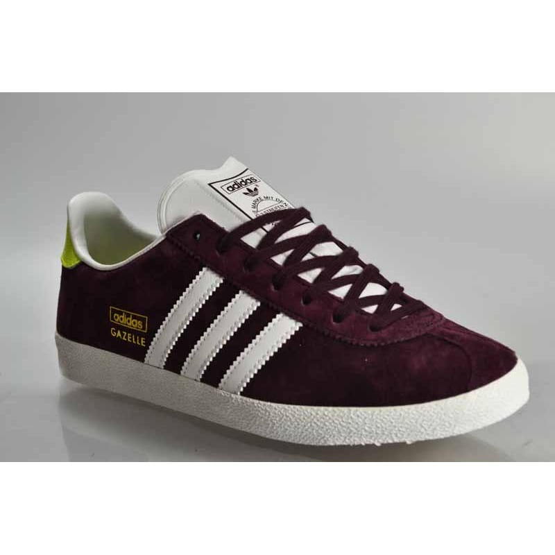 adidas gazelles women burgundy