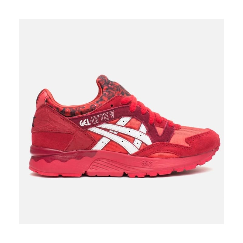 save off a1376 34d2a Asics Gel-lyte V 'Valentines Pack' - Red/White