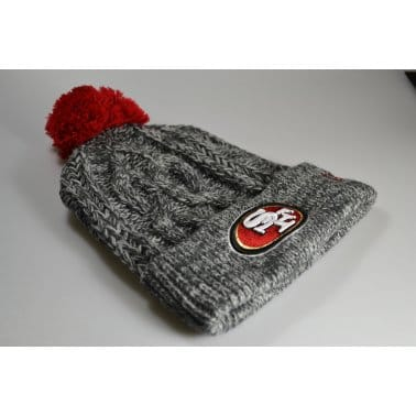Graphic San Francisco 49ers Beanie Grey Heather