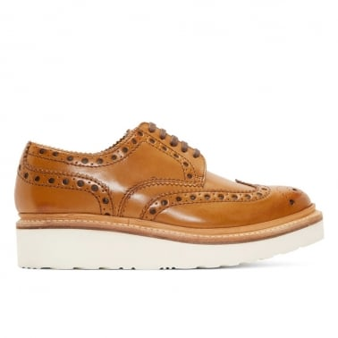 Archie Brogue - Tan/Calf