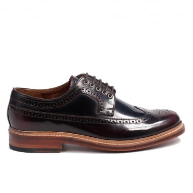 Sid Brogue - Burgundy High Shine