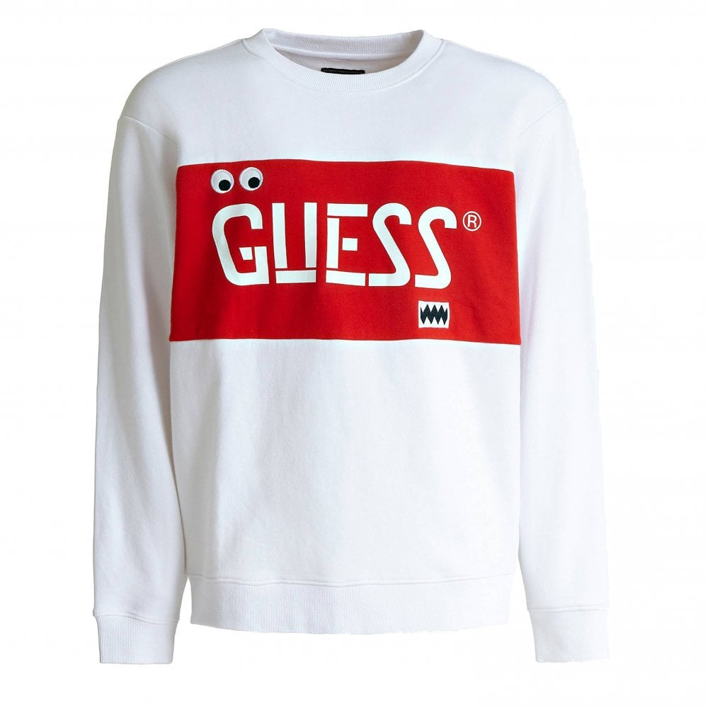 2ed7fb17b Guess x J.Balvin Stencil Crewneck Sweat | Clothing | Natetrjacks