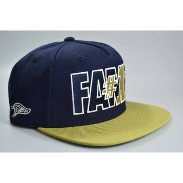 Hall Of Fame Fame#1 Snap Navy/gold