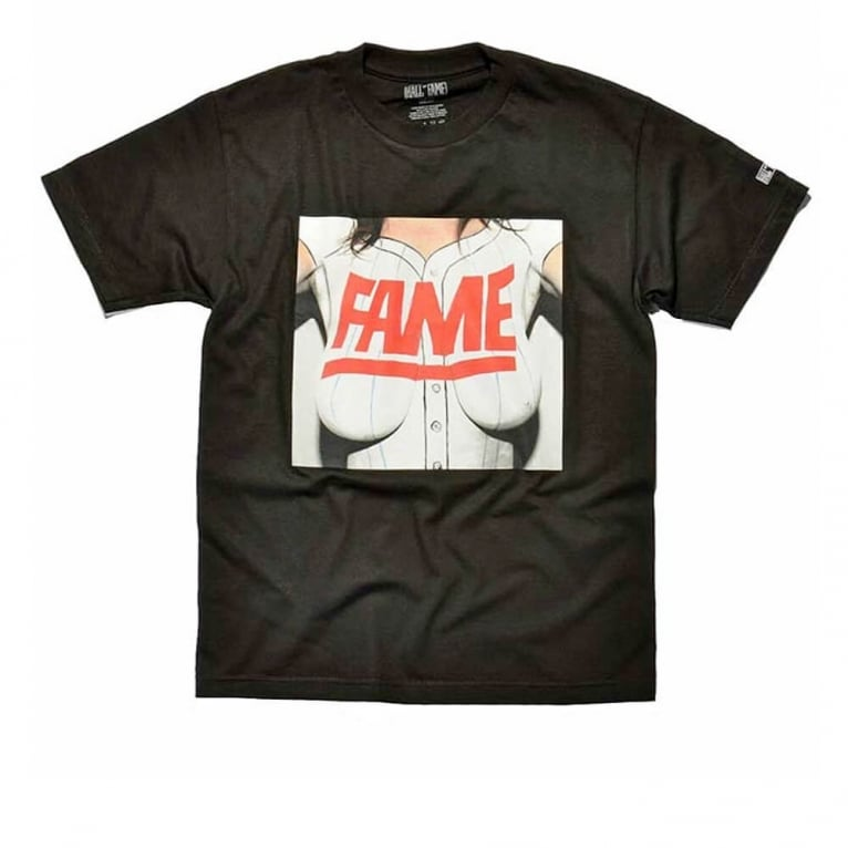 Hall of Fame Tits T-shirt - Black