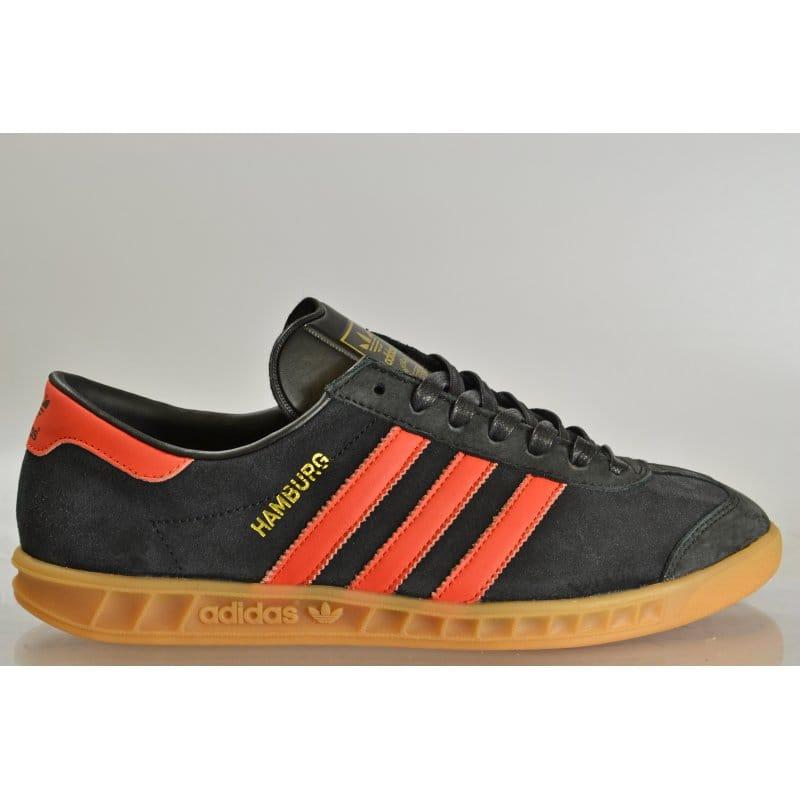 adidas hamburgs black and orange