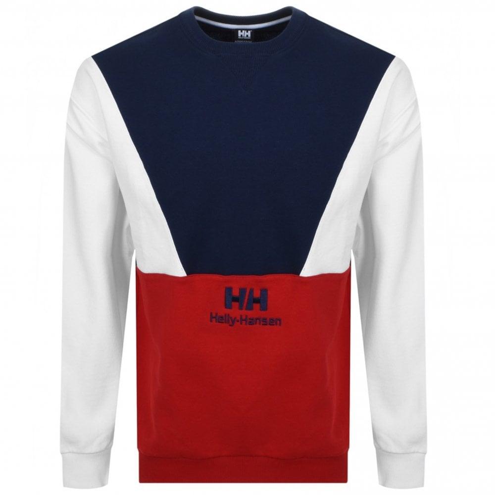 obuwie buty na tanie nowy wygląd Urban Retro Sweatshirt - Red/ Blue/ White