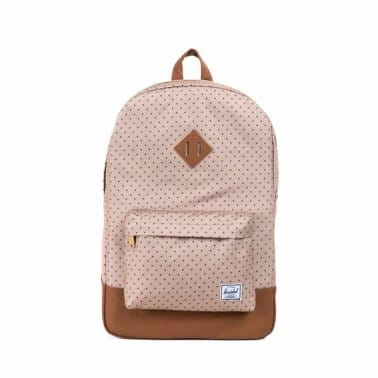 Heritage Backpack Khaki Polka