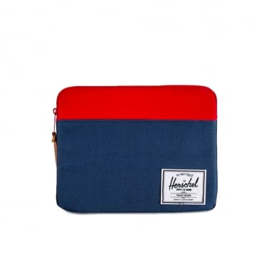 Anchor iPad Case - Navy/Red