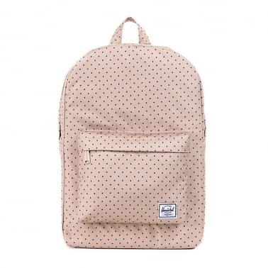Classic Backpack - Khaki Polka