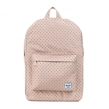 Classic Mid Backpack - Khaki Polka