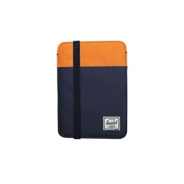 Herschel iPad Mini Sleeve - Navy/Mandarin