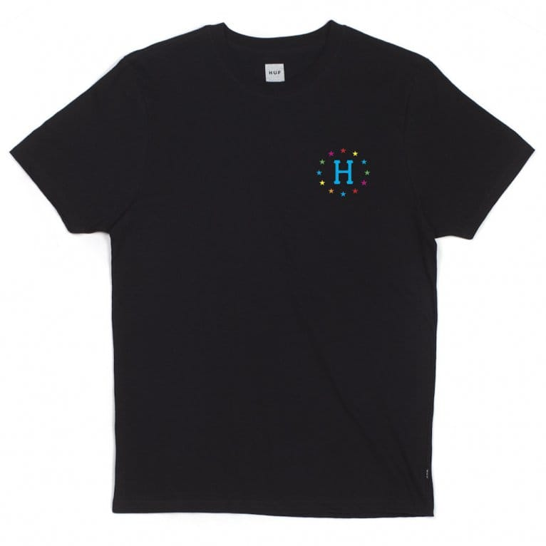 HUF 144 Galaxies T-shirt - Black