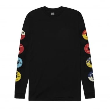 45 RPM Long Sleeve T-Shirt - Black