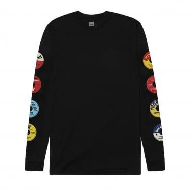 45 RPM Long Sleeve T-Shirt - Black