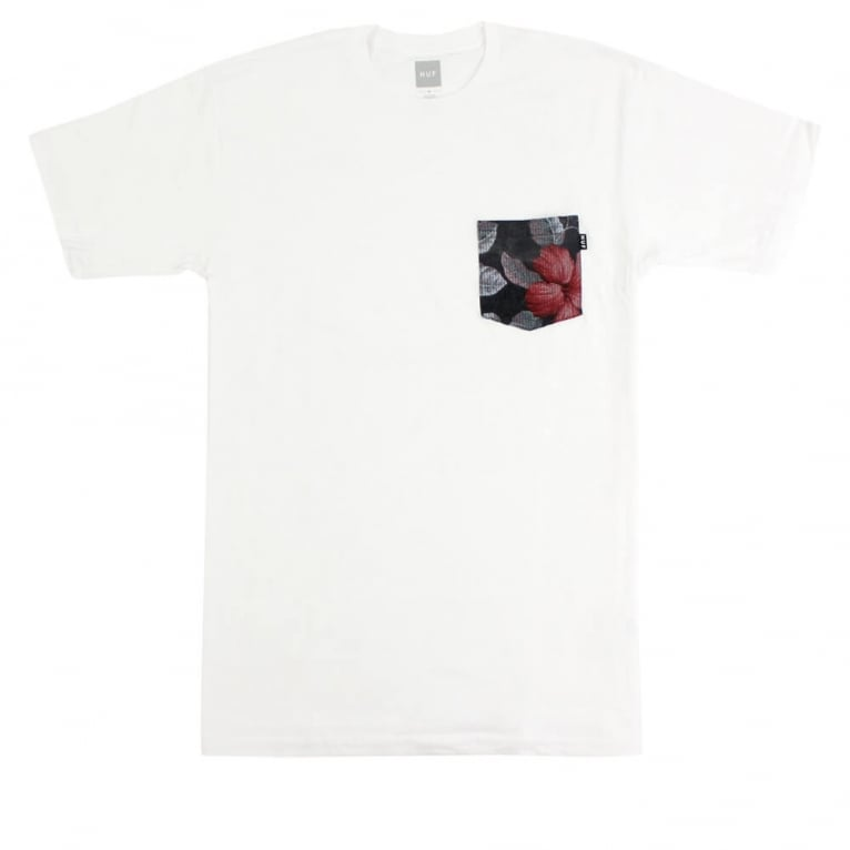 HUF Aloha Pocket T-shirt - White