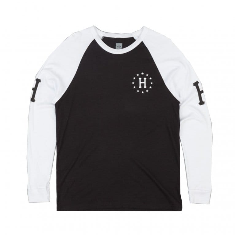 HUF Audible Raglan Longsleeve T-shirt - White