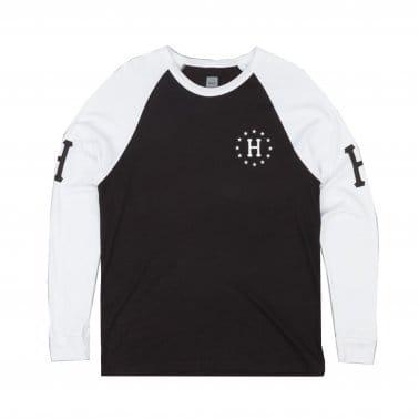 Audible Raglan Longsleeve T-shirt - White