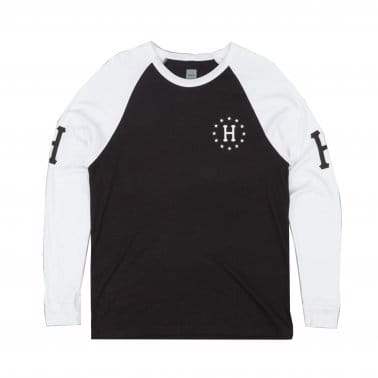 Audible Raglan Longsleeve T-shirt - White