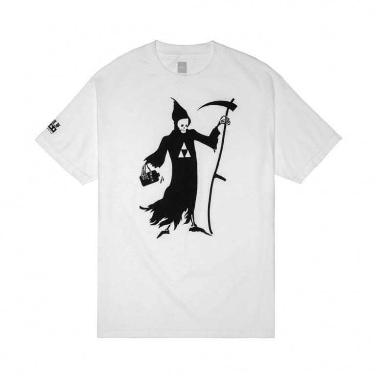 HUF Black Scale Reaper T-shirt - White