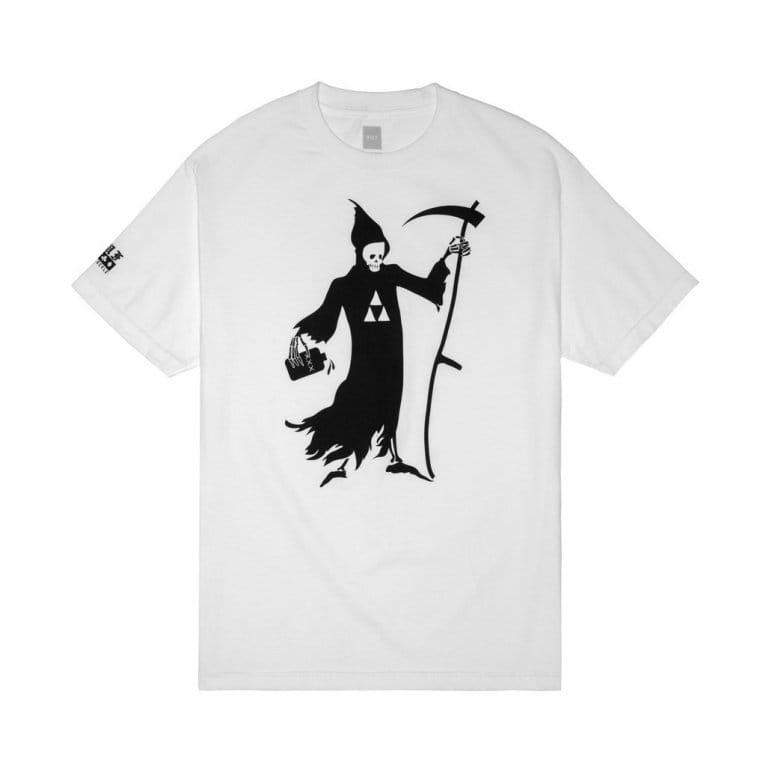 HUF Black Scale Reaper T-shirt - White