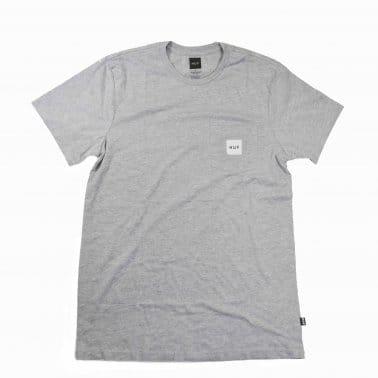 Box Logo Pocket T-shirt - Grey Heather